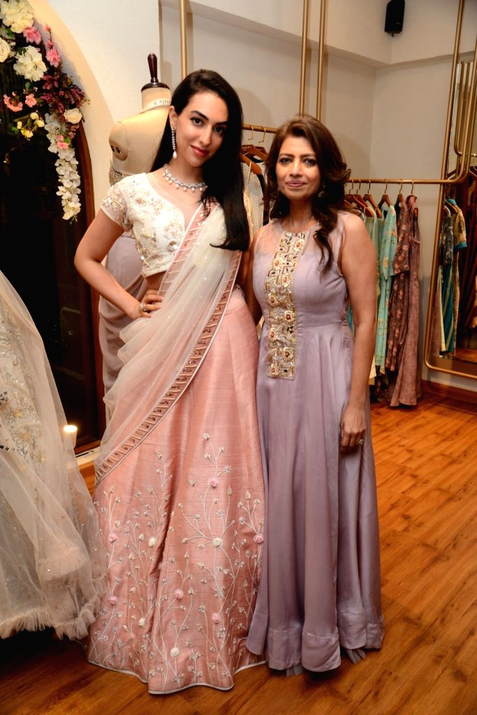 Fashion designer Pallavi Goyal at the launch of her new store in Mumbai, on May 5 , 2019.