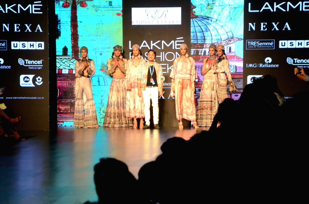Fashion designer Rajdeep Ranawat at Lakme Fashion Week (LFW) Summer/Resort 2019 in Mumbai, on Feb 1, 2019.