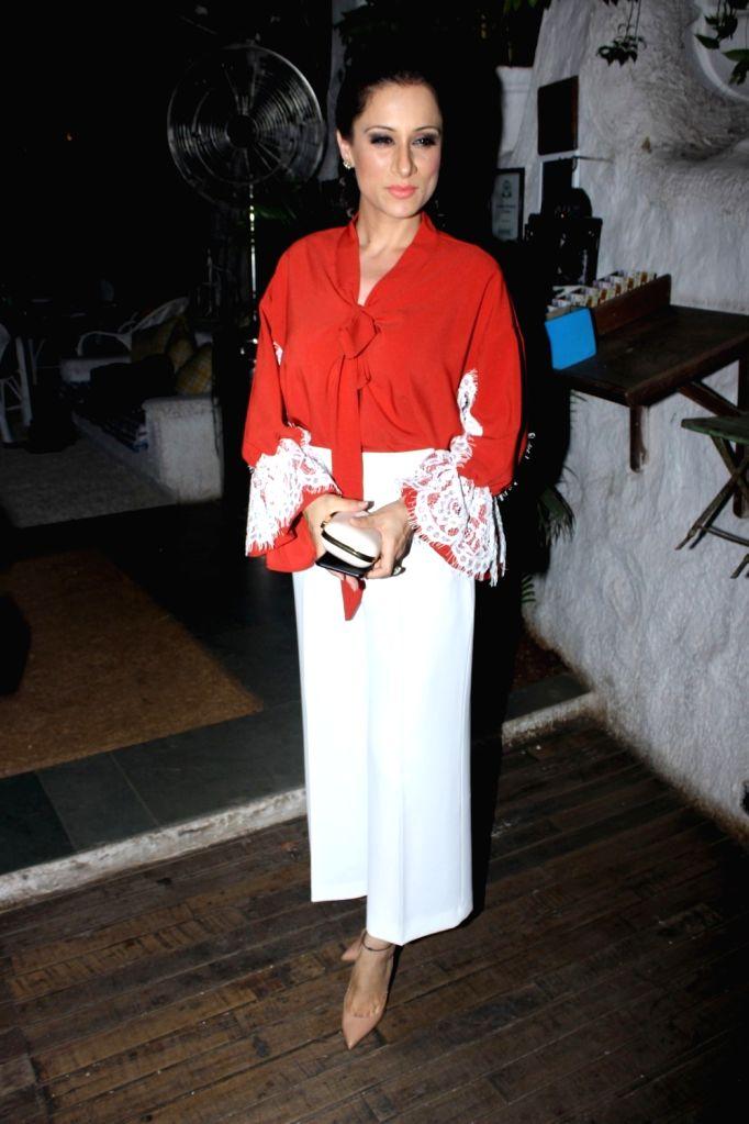 Fashion designer Rouble Nagi during the launch of fashion designer Mayyur Girotra`s exclusive pret line White Elephant in Mumbai, on May 30, 2017.