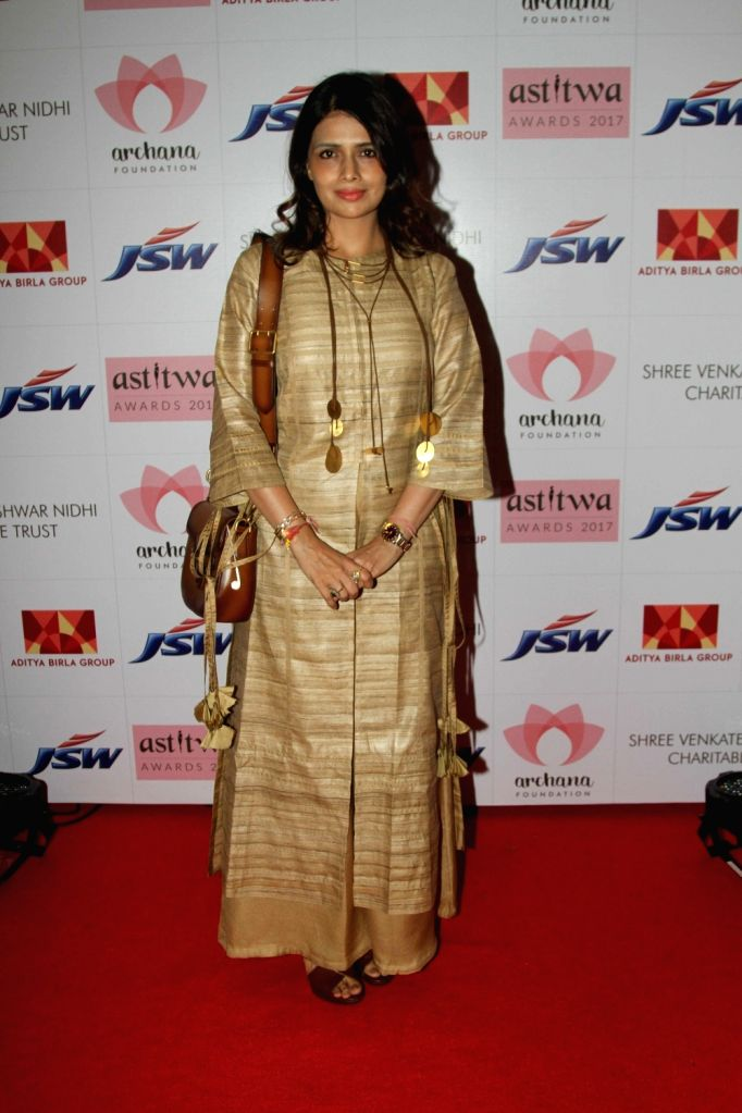Fashion Designer Shruti Sancheti during Archana Astitwa Awards 2017 in Mumbai on March 7, 2017.