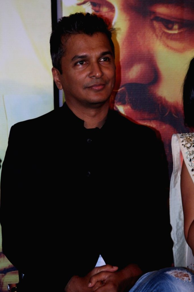 Fashion designer Vikram Phadnis during the music launch of marathi film Hrudayantar in Mumbai, on June 10 2017.