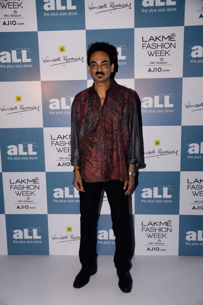 Fashion designer Wendell Rodricks during a programme in Mumbai, on June 23, 2017.