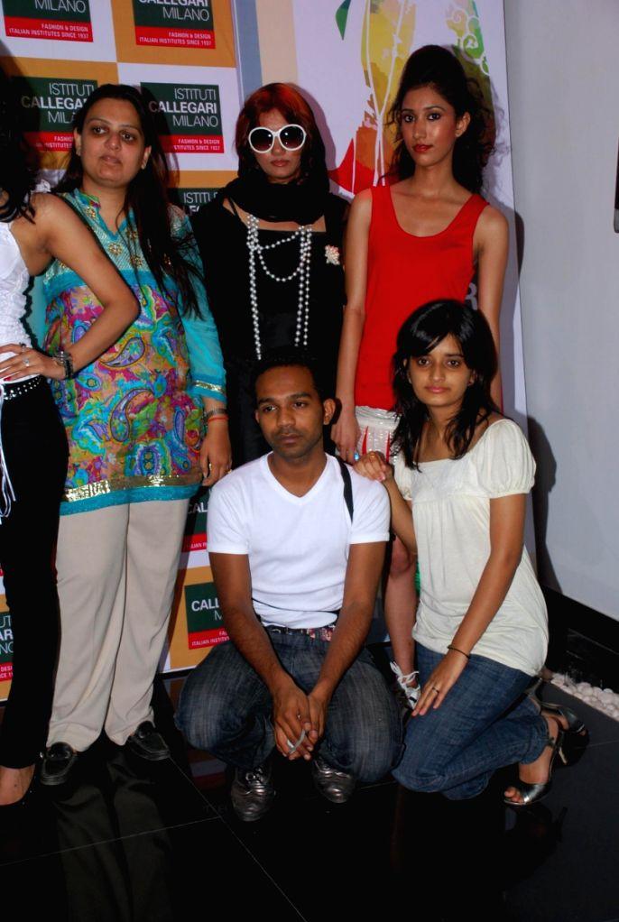 Fashion event at Institut Callegari in Mumbai.