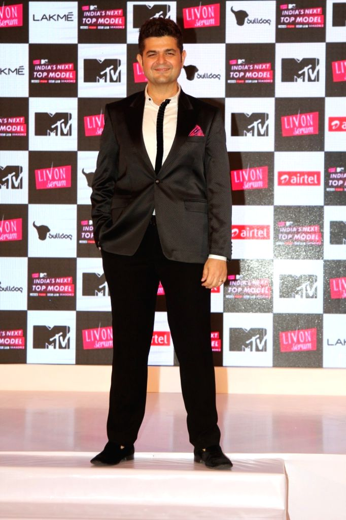Fashion photographer Dabboo Ratnani during the launch of MTVs show Next Top Model Season 2 in Mumbai, on June 30, 2016. - Season