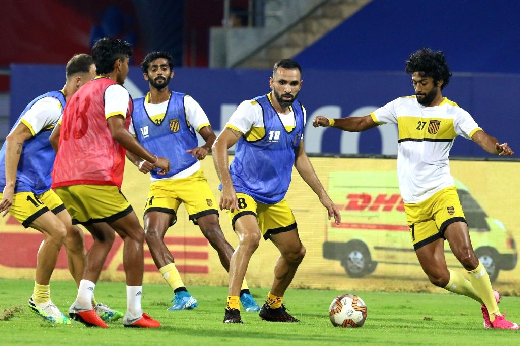 FC Goa face Hyderabad FC in a virtual play-off match that will decide which team takes up the last of the top four spots in the Indian Super League (ISL) at the Fatorda Stadium here on Sunday.