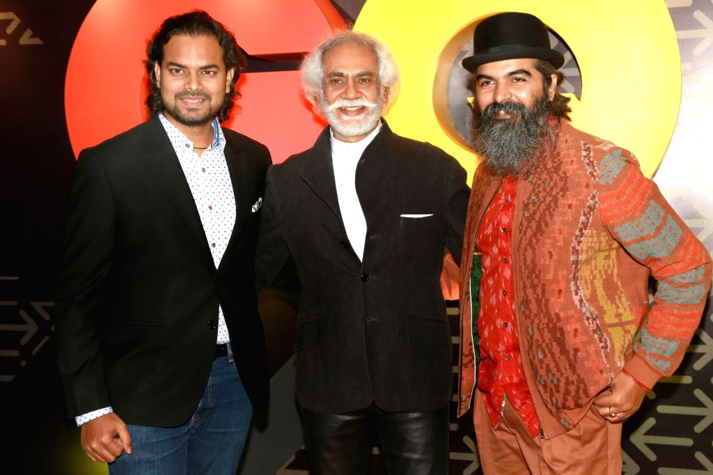 """FDCI President Sunil Sethi and Designer Rahul Misra  at the Red Carpet of """"The Most Influential Young Indians of 2016"""" organized by GQ, in New Delhi on July,02,21016 - Rahul Misra"""