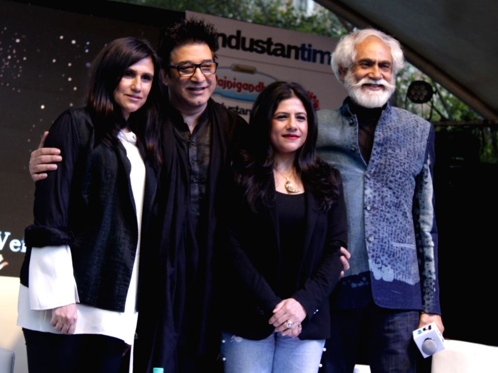 """FDCI President Sunil Sethi during """"HT Imagine Fest 2019: The World-Class Cultural Event for 'Attainable Art'"""" in New Delhi on Feb 23, 2019."""