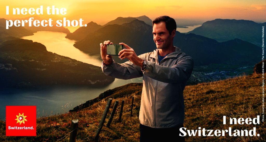 Federer becomes brand ambassador for Swiss tourism board