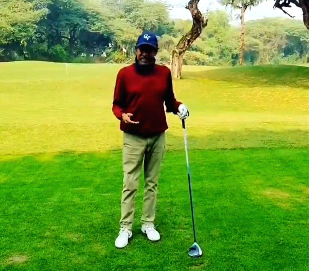 Feels good to be back at the golf course: Kapil Dev - Kapil Dev