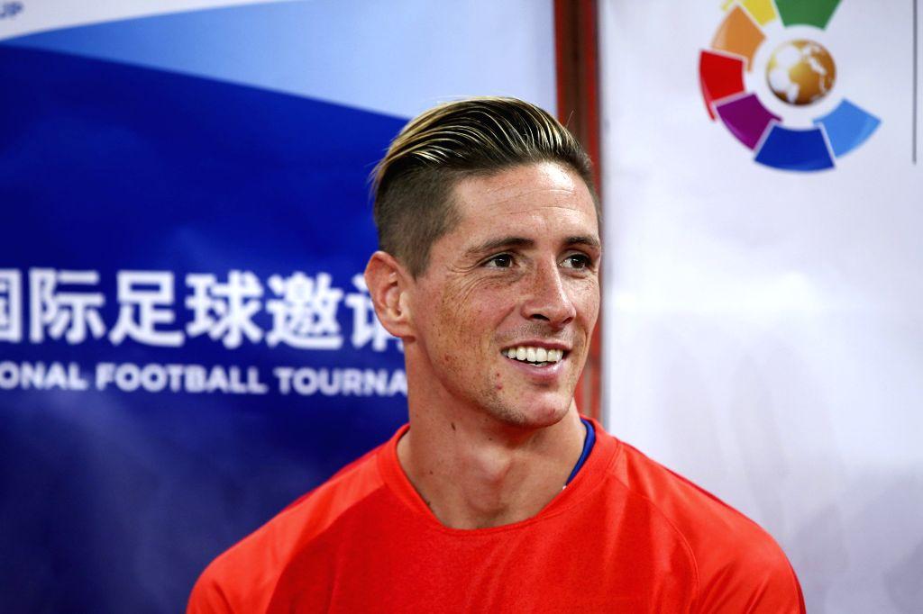 Fernando Torres. (IANS/EFE/Xi Ya CHINA OUT)