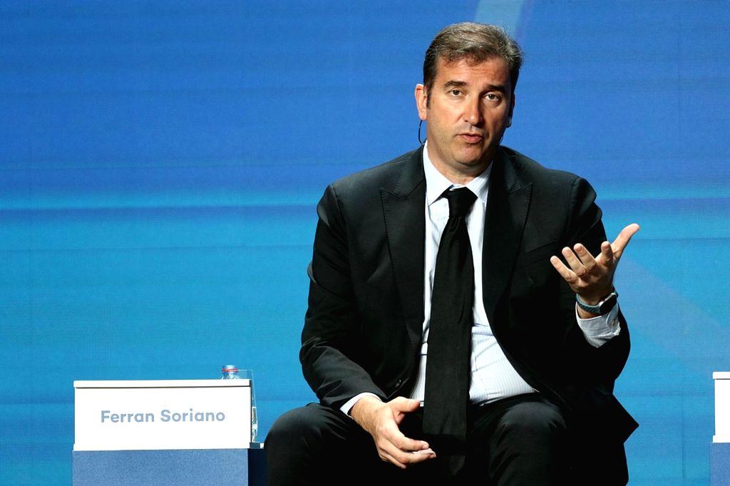 Ferran Soriano. (Xinhua/Mahmoud Khaled/IANS)