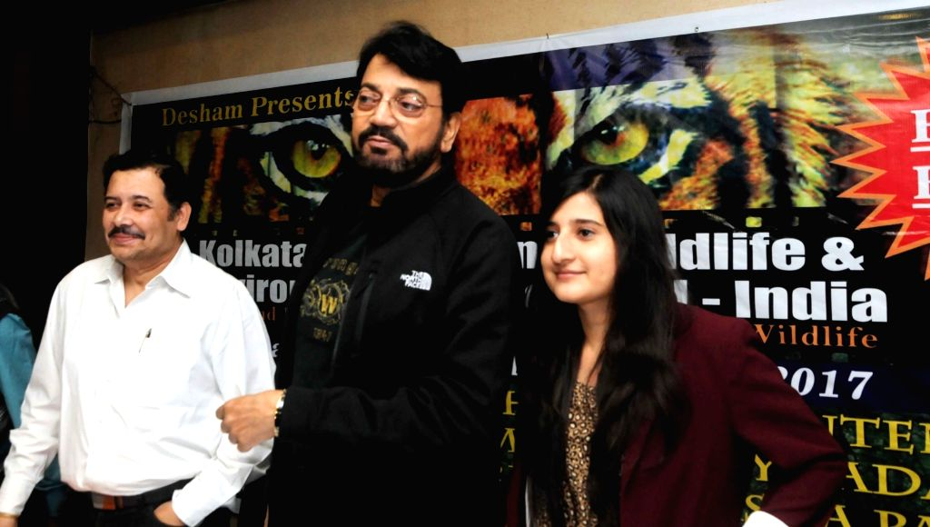 Festival Director Aditya Mukherjee, actor turned politician Chiranjeet Chakraborty and filmmaker Ashwika Kapur during a press conference ahead of the 3rd edition of Kolkata International ... - Mukherjee and Chiranjeet Chakraborty