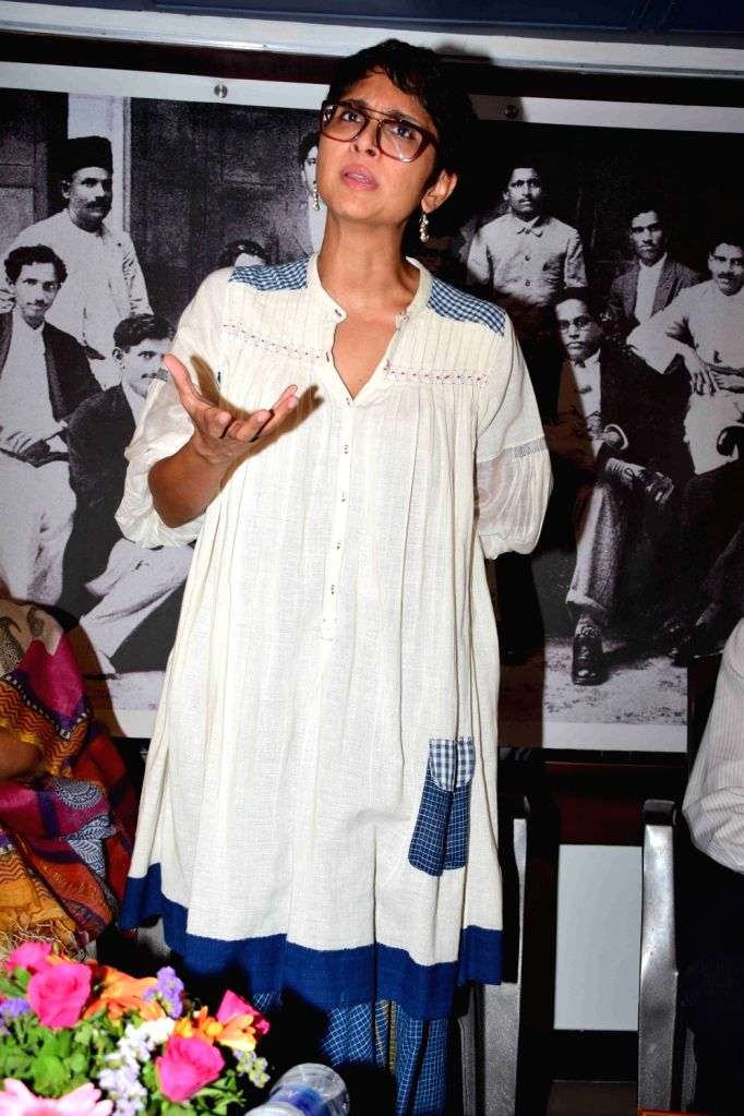 Ffilmmaker Kiran Rao during the closing ceremony of photo exhibition of The Blue Icon - an identity and emergence of blue insignia in Mumbai, on April 21, 2016. - Kiran Rao