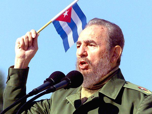 Fidel Castro in later life