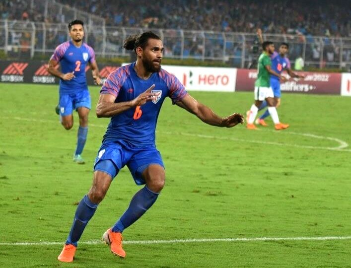 FIFA WC qualifiers: India's Adil Khan recalls double joy of 2019 - Adil Khan