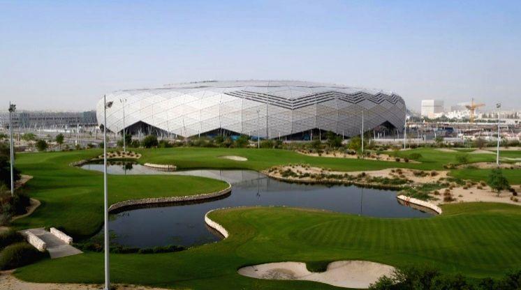 FIFA World Cup Qatar 2022 stadium.