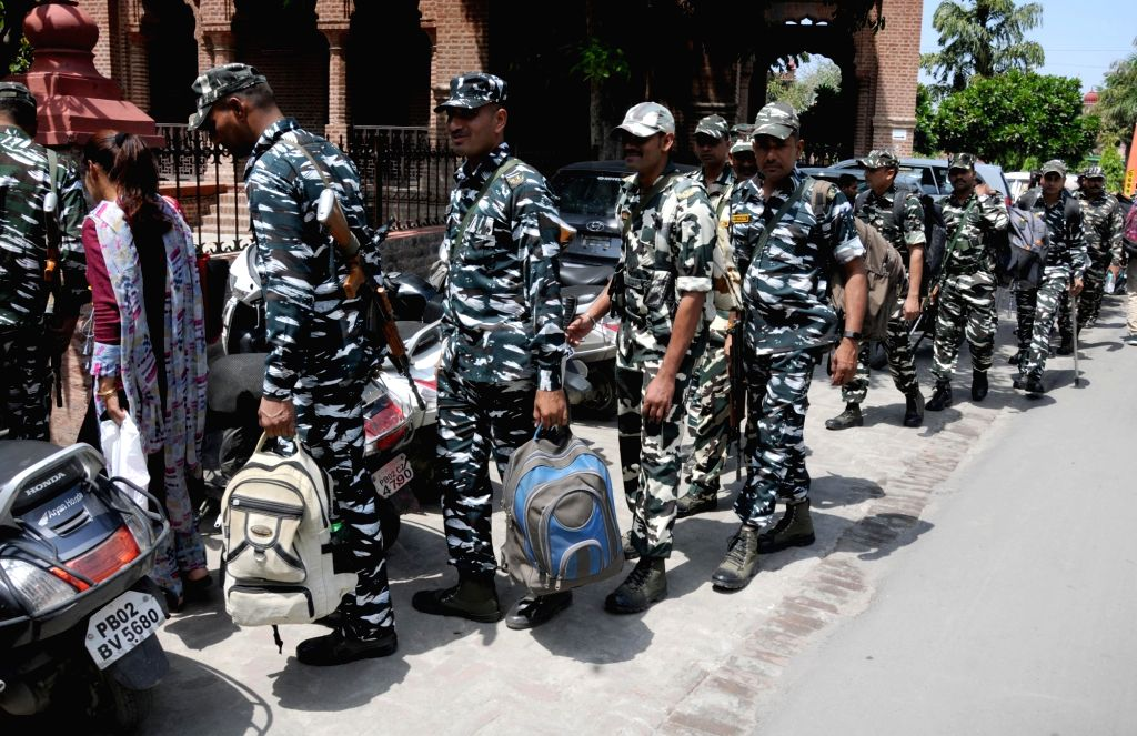 Fifteen companies of central paramilitary forces would be deployed for the November 25 by-polls to three assembly constituencies in West Bengal, Election Commisison sources said here on Tuesday. (Photo: IANS)