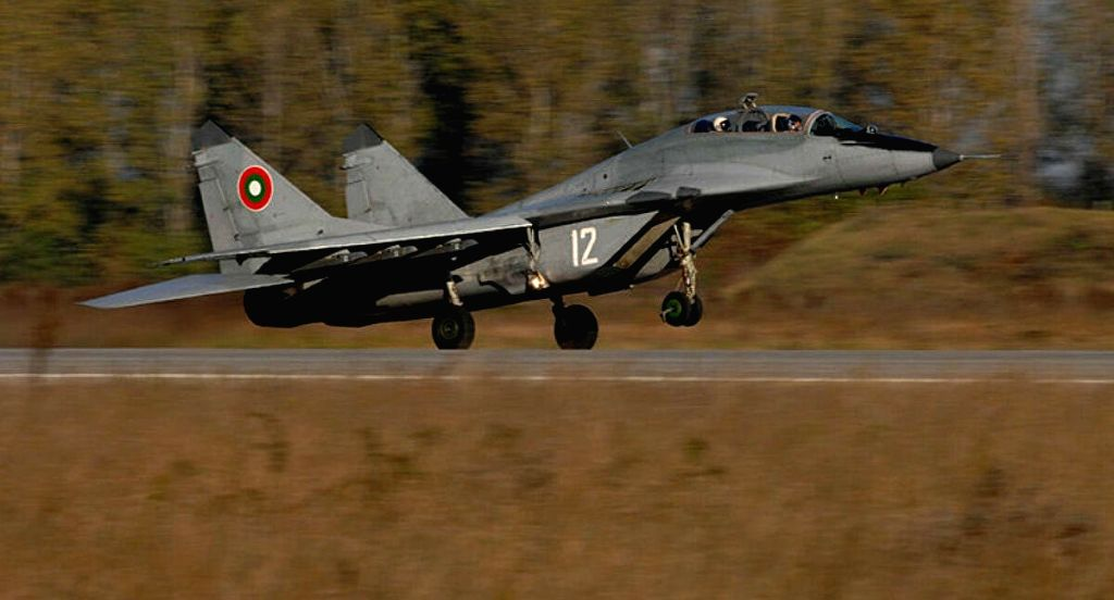 Fighter jet disappears from radars during Bulgarian-US drill