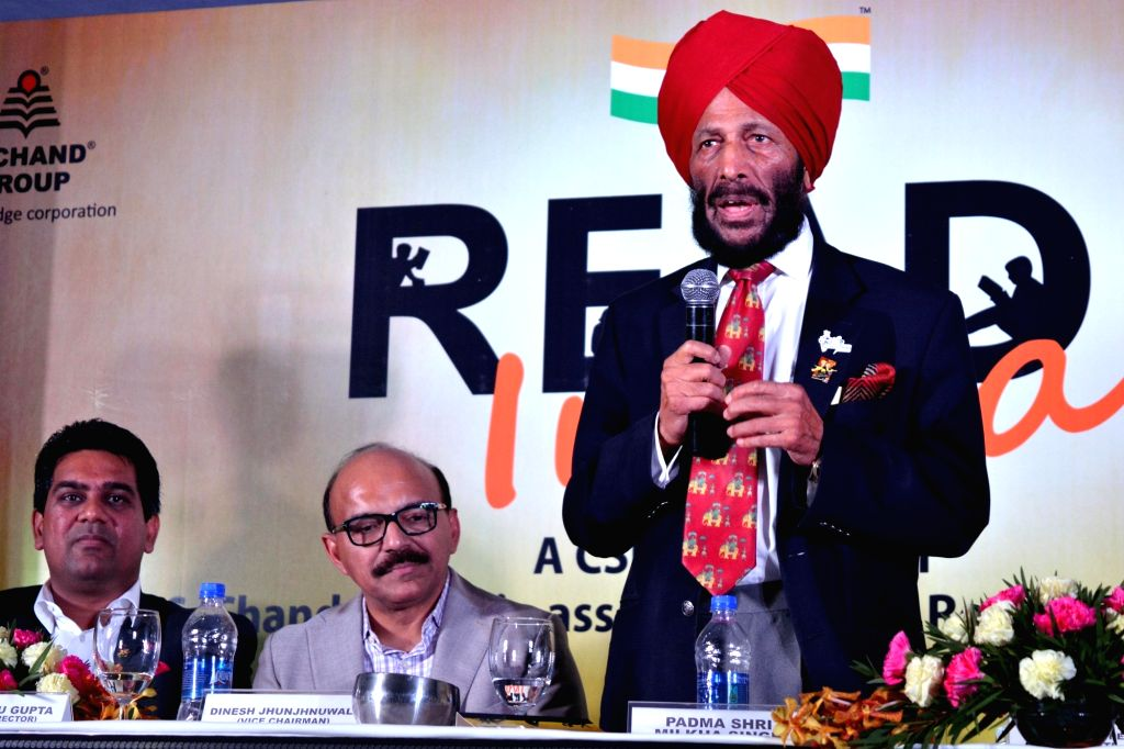 File Photo: Flying Sikh Milkha Singh. - Sikh Milkha Singh