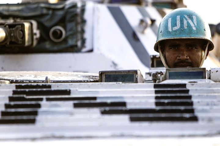 File photo of Indian peacekeepers with the United Nations Mission in South Sudan.
