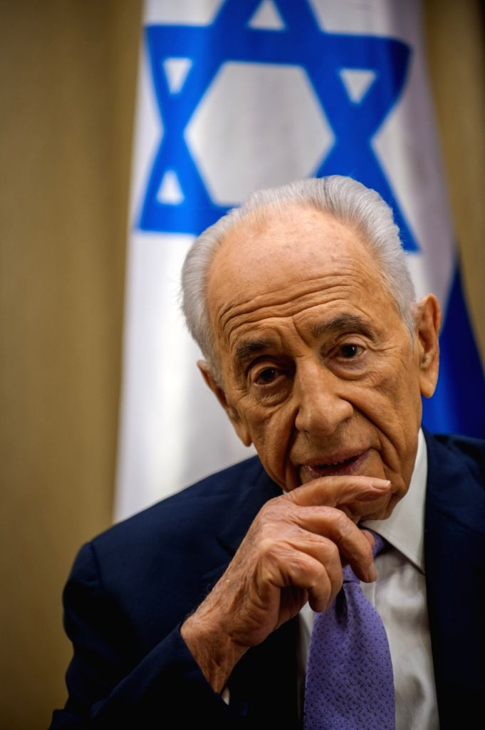 File Photo: Shimon Peres, former Israeli president and the nation's eldest statesman, passed away on Wednesday morning. He was 93. (File Photo: Xinhua/IANS)