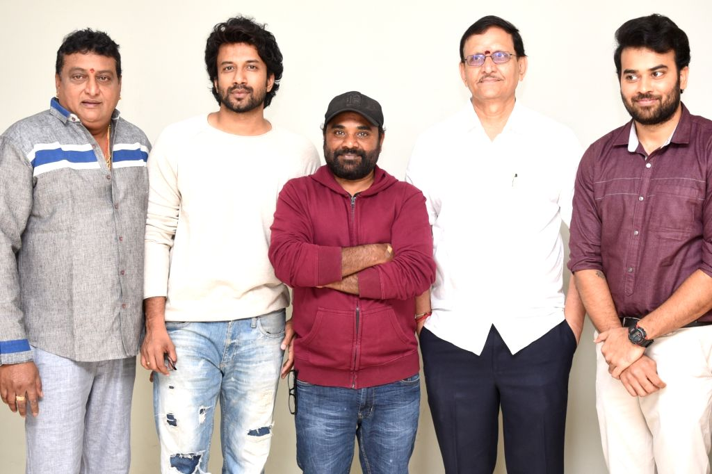 Film Bluff Master's press meet.
