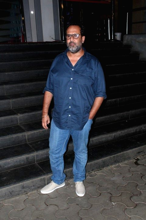 "Film director Anand L. Rai during the special screening of film ""Jab Harry Met Sejal"" in Mumbai on Aug 4, 2017. - Anand L. Rai"