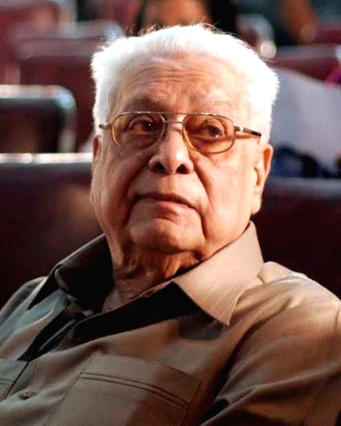Film Director Basu Chatterjee. - Basu Chatterjee