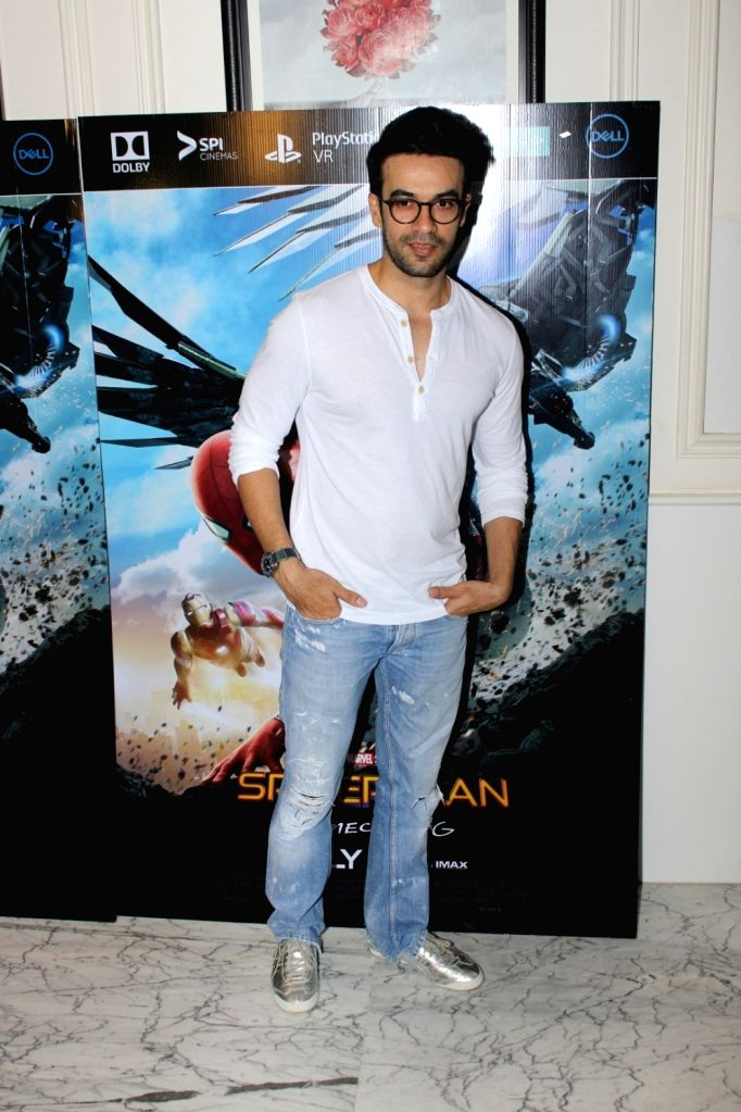 "Film director Punit Malhotra at the special screening of ""Spider-Man: Homecoming"" in Mumbai, on July 4, 2017. - Punit Malhotra"