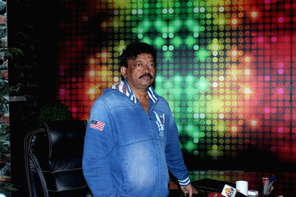 Film director Ram Gopal Varma during the Launch Of Web Series Guns and Thighs in Mumbai, on May 26, 2017. - Ram Gopal Varma