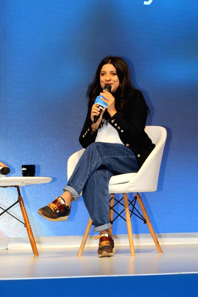 Film director Zoya Akhtar at the inauguration of Faebook's Thumbstoppers Summit in New Delhi on Oct 9, 2019. - Zoya Akhtar