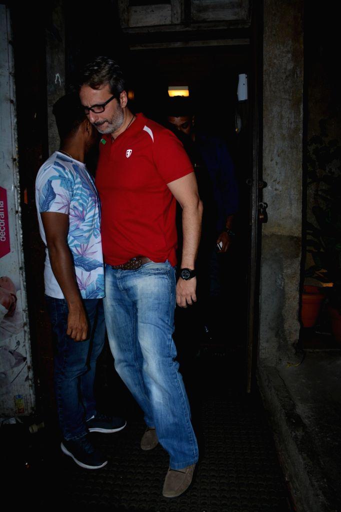 Film distributor Anil Thadani seen at Mumbai's Bandra, on Dec 7, 2018.