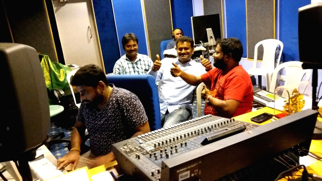 "Film ""Lokarakshakudu"" - songs recording."