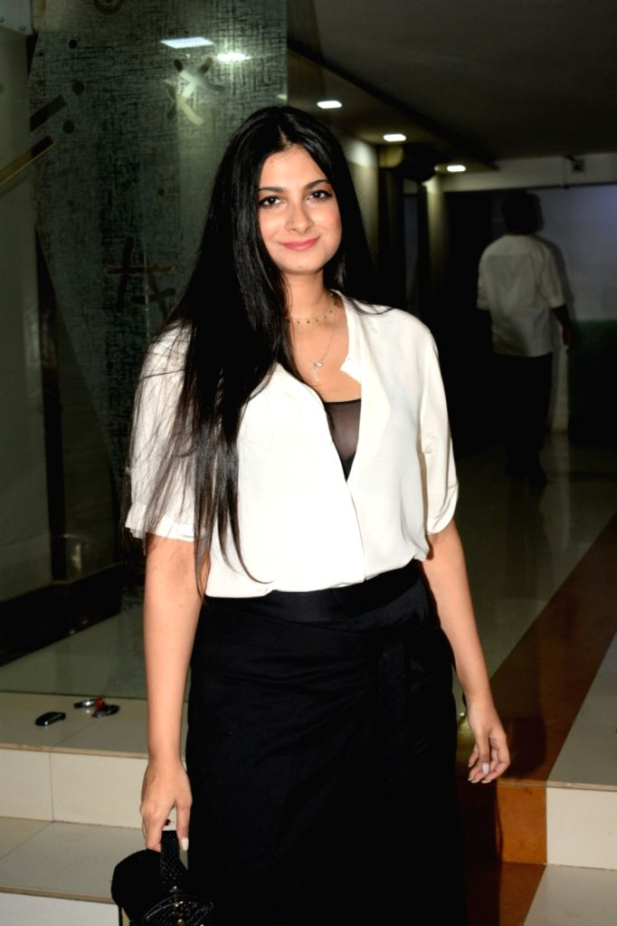 Film producer Rhea Kapoor seen at party hosted by makeup artist Mallika Bhatt in Mumbai on May 11, 2019. - Mallika Bhatt and Kapoor