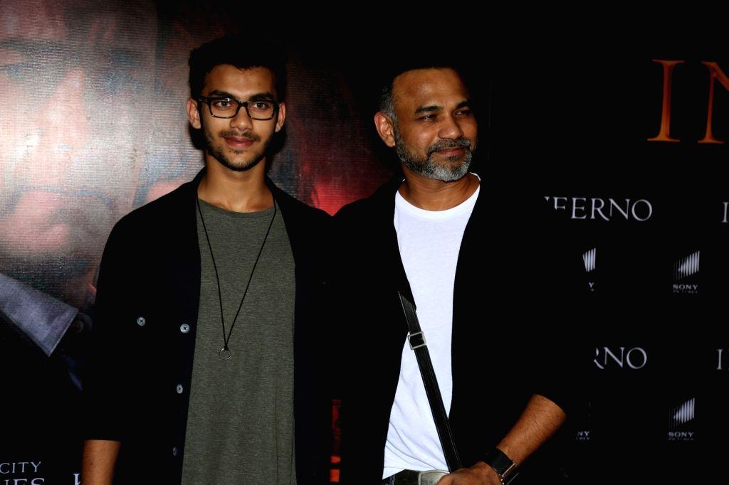 Filmmaker Abhinay Deo during the screening of film Inferno in Mumbai on Oct 12, 2016. - Abhinay Deo