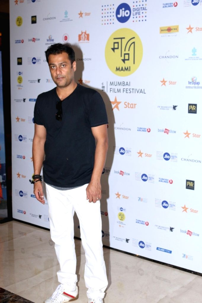 Filmmaker Abhishek Kapoor arrives to attend in conversation with publisher and editor Arpita Das at the Jio MAMI 18th Mumbai Film Festival, in Mumbai, on Oct 26, 2016. - Abhishek Kapoor