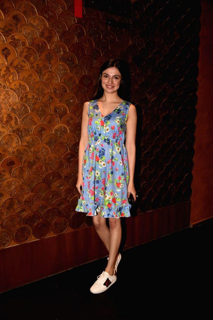 Filmmaker-actress Divya Khosla Kumar at producer Tanuj Garg's birthday party in Mumbai on Dec 5, 2017. - Divya Khosla Kumar