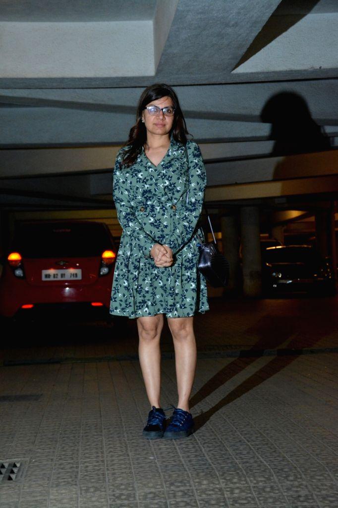 Filmmaker Alankrita Shrivastava attends a party hosted by Producer Ritesh Sidhwani for Amazon Studios head Jennifer Salke, in Mumbai, on March 7, 2019. - Alankrita Shrivastava