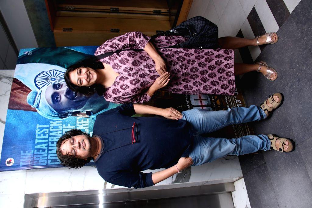 "Filmmaker Amole Gupte at the screening of ""Soorma"" in Mumbai on July 13, 2018. - Amole Gupte"