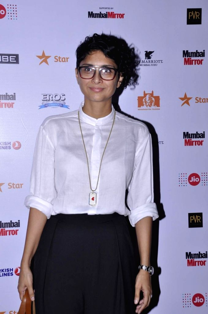Filmmaker and MAMI Chairperson Kiran Rao during the screening of the movie 'He Named Me Malala', at the Jio MAMI 17th Mumbai Film Festival in Mumbai, on Nov 1, 2015. - Kiran Rao