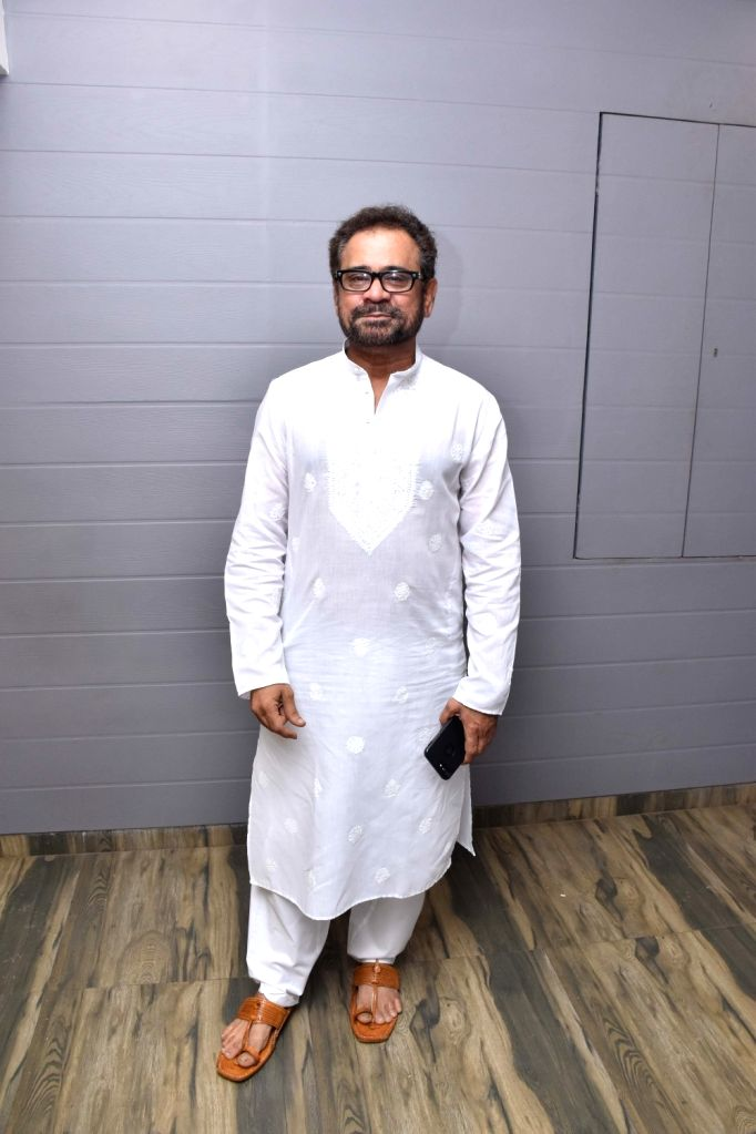 Filmmaker Anees Bazmee poses for a photo during an Iftar party thrown by him in Mumbai on May 31, 2019. - Anees Bazmee