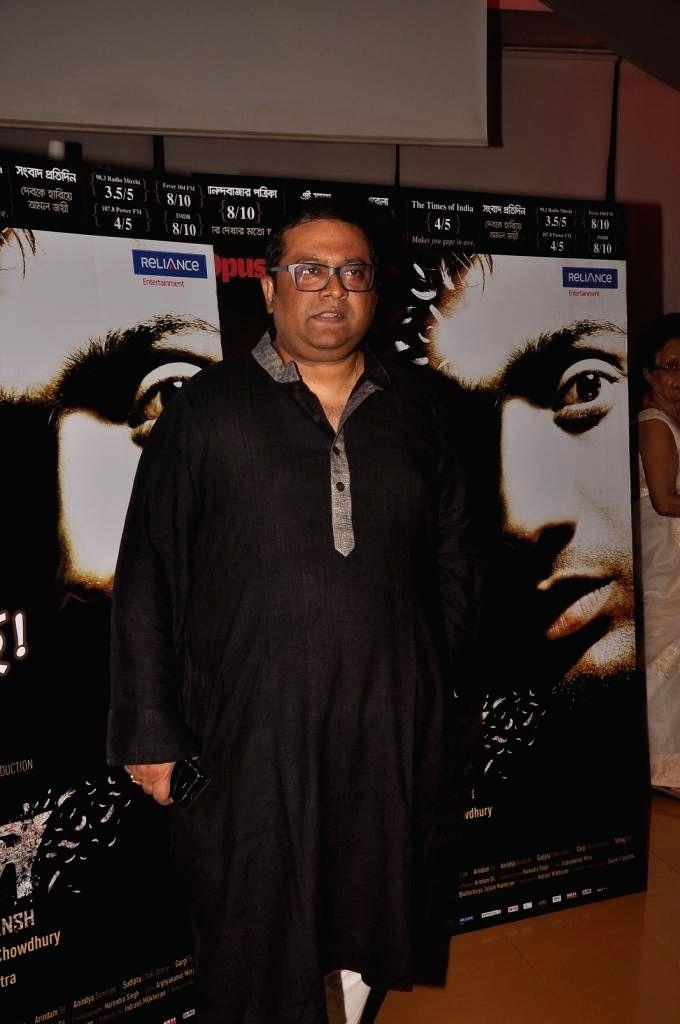 Filmmaker Annirudh during special screening of Bengali film Buno Haansh in Mumbai. - Annirudh
