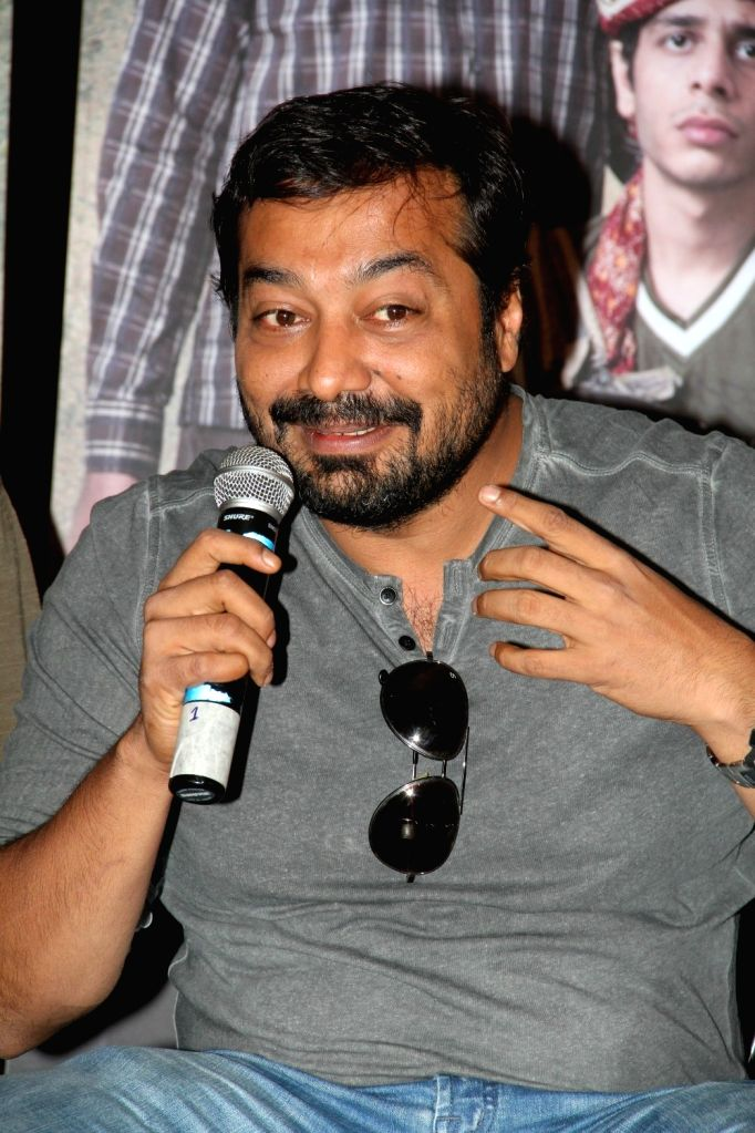 Filmmaker Anurag Kashyap during a meet and greet session of film Titli in Mumbai on Oct 16, 2015. - Anurag Kashyap