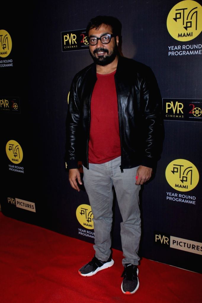"Filmmaker Anurag Kashyap during the red carpet of Hollywood film ""All The Money In The World"" in Mumbai, on Dec 29, 2017. - Anurag Kashyap"
