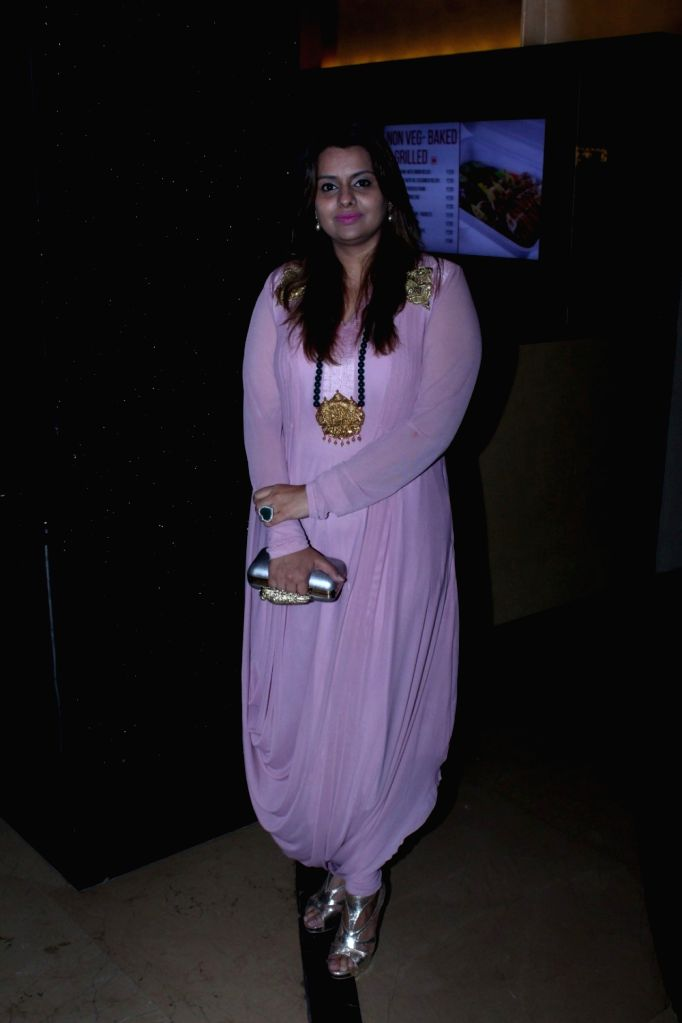 filmmaker Deepshikha Deshmukh during the music launch of marathi film Hrudayantar in Mumbai, on June 10 2017. - Deepshikha Deshmukh