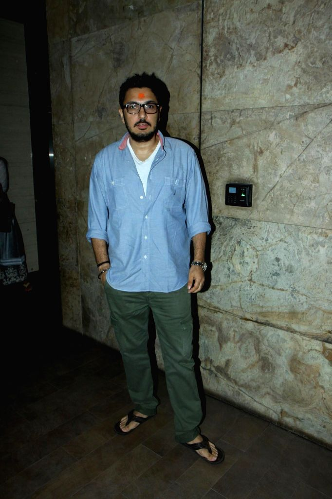 Filmmaker Dinesh Vijan during the screening of film Lekar Hum Deewana Dil in Mumbai, on July 1, 2014. - Dinesh Vijan
