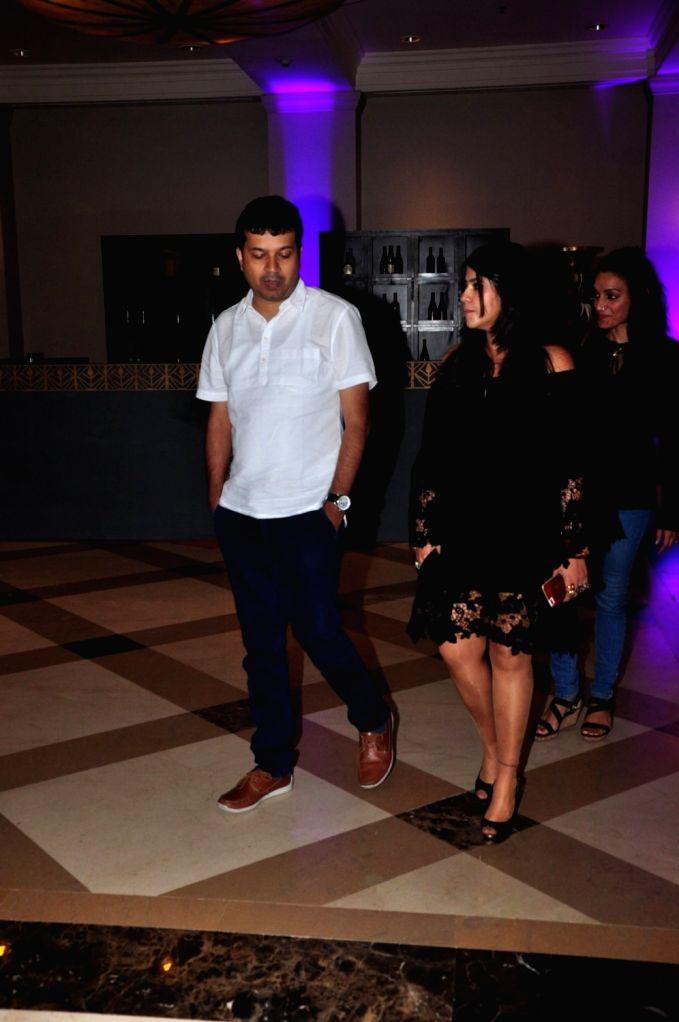 Filmmaker Ekta Kapoor during the press conference of Star Plus channel upcoming television series, Chandra Nandini, in Mumbai, on Sept 21, 2016. - Ekta Kapoor