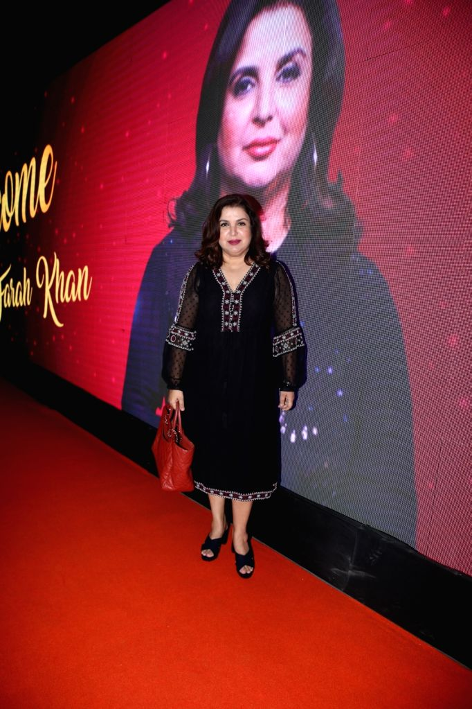 Filmmaker Farah Khan at Big Cine Expo in Maharashtra's Goregaon, on Aug 27, 2019. - Farah Khan