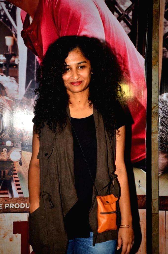 Filmmaker Gauri Shinde during the screening of film Ki & Ka, in Mumbai, on March 29, 2016. - Gauri Shinde