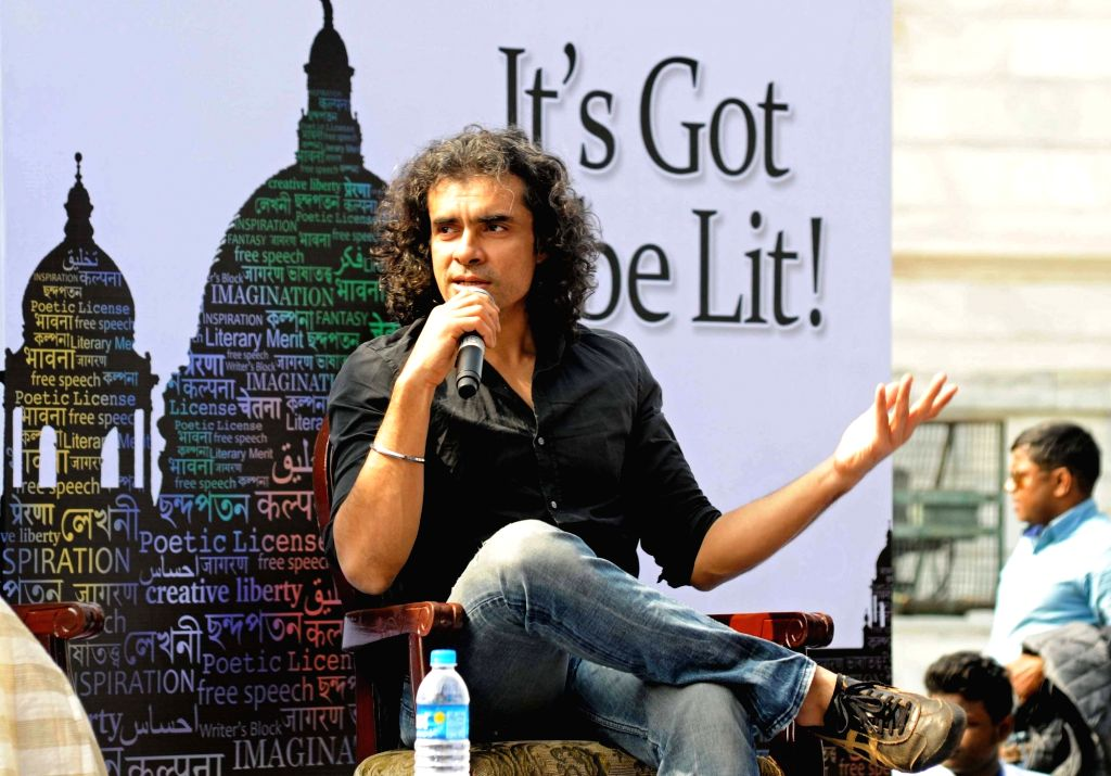 Filmmaker Imtiaz Ali addresses at the Tata Steel Kolkata Literary meet 2016 in Kolkata on Jan 22, 2016.